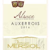 Domaine Mersiol - Auxerrois - blanc - 2016 - Bouteille - 0.75L