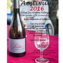 DOMAINE PIALLAT - Cuvée Aestivum - 2016 - Bouteille - 0.75L