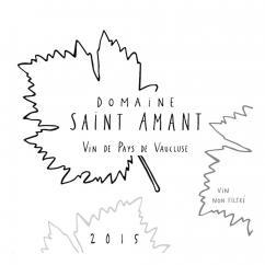 Domaine Saint Amant - VIN DE PAYS DE VAUCLUSE 2015 - 2015 - Bouteille - 0.75L