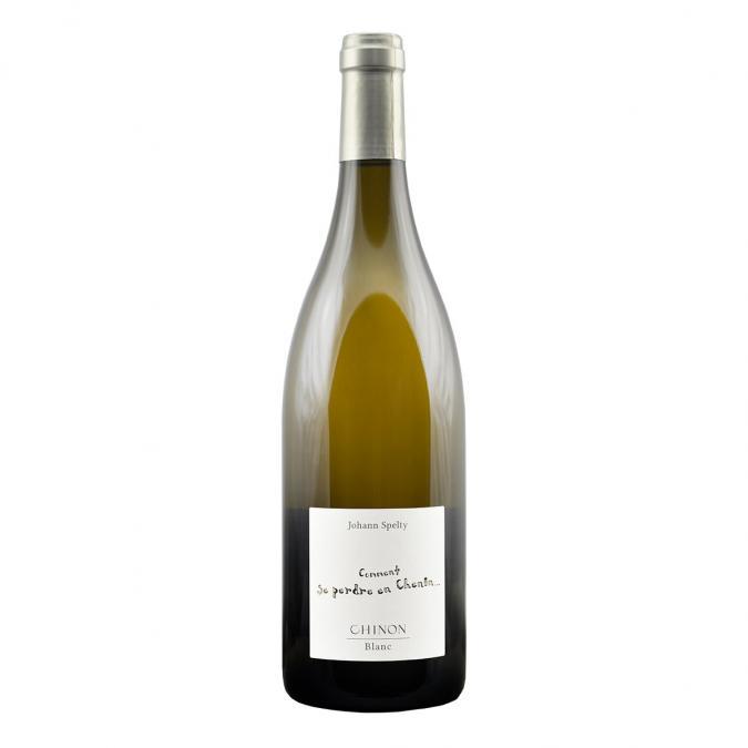 """Domaine Spelty - Chinon Blanc """" Comment se perdre en Chenin """"  2014 Vin BIO - 2014 - Bouteille - 0.50L"""