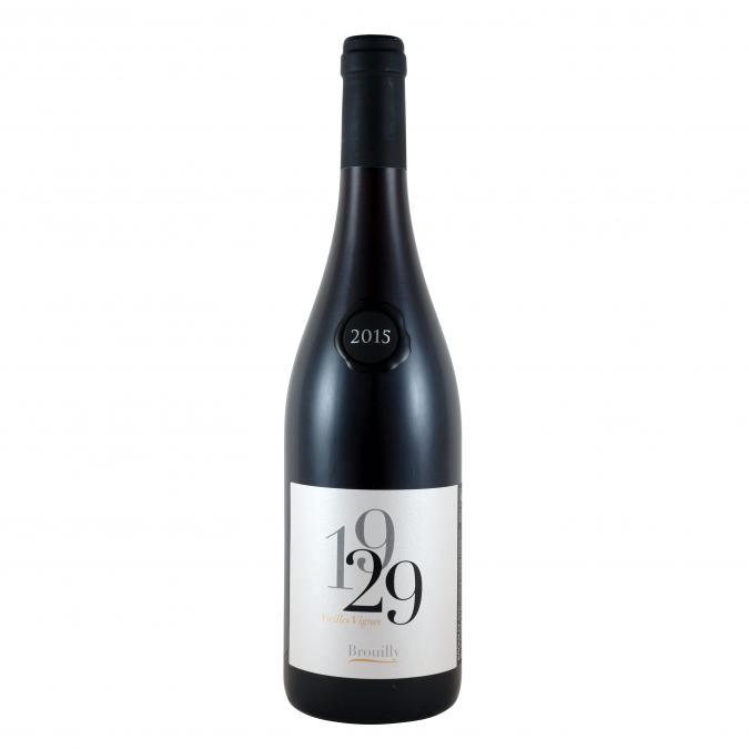 DOMAINE DE LA POYEBADE - Brouilly  cuvée vielles vignes 1929 - 2017 - Bouteille - 0.75L