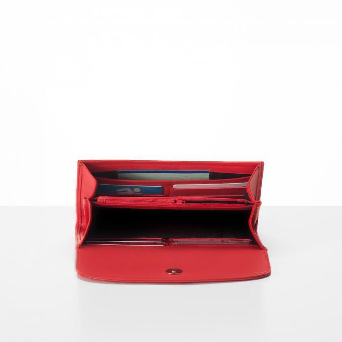 Ecorce Paris - Pochette / portefeuille NOOR Rouge - Pochette (maroquinerie) - Rouge