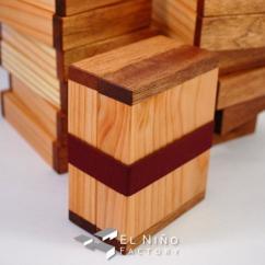 El Niño Factory - Boite à savon de voyage / Bois mixtes - boite à savon