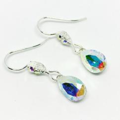 ELILOLA BIJOUX - Boucles d'oreilles cristal AB - Boucles d'oreille - Cristal (swarovski)