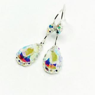 ELILOLA BIJOUX - Boucles d'oreilles cristal AB - Boucles d'oreille - Cristal