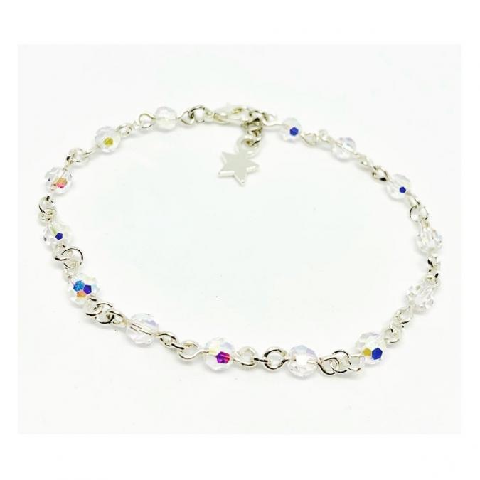 ELILOLA BIJOUX - Bracelet perles en cristal AB - Bracelet - Cristal