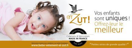 Et Zut - Une jolie collection de vêtements dédiés aux bébés et aux enfants, signée par une styliste française