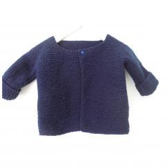 Et Zut - Bébé garçon gilet Marius 12 mois - Gilet (bébé)