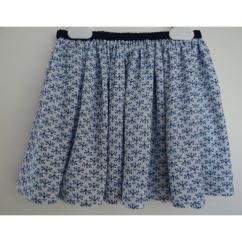 Et Zut - Enfant fille jupe Marion 4ans/6ans/8 ans - Jupe - Bleu