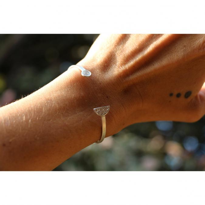 "Etcaetera Création - Bracelet ""Koguito"" - Bracelet - argent"