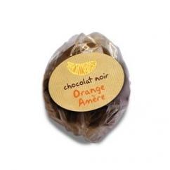 Façon Chocolat, chocolaterie bio de la Drôme - ROCHER À L'ORANGE - Chocolat