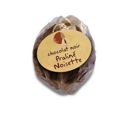 Façon Chocolat, chocolaterie bio de la Drôme - Rocher praliné noisette - Chocolat