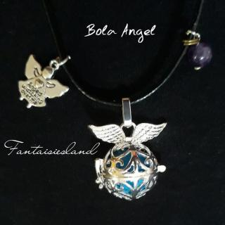 Fantaisiesland - Bola de grossesse - Angel - Collier - simili cuir