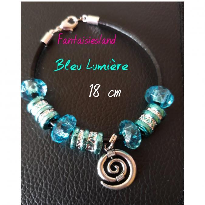Fantaisiesland - Bracelet Bleu lumière - Bracelet - 4668