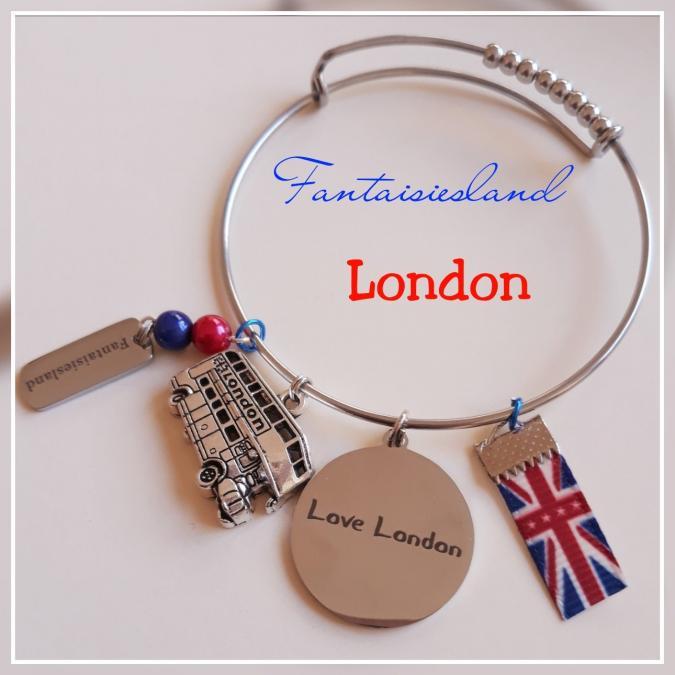 Fantaisiesland - Bracelet London - Bracelet - Métal (argenté)