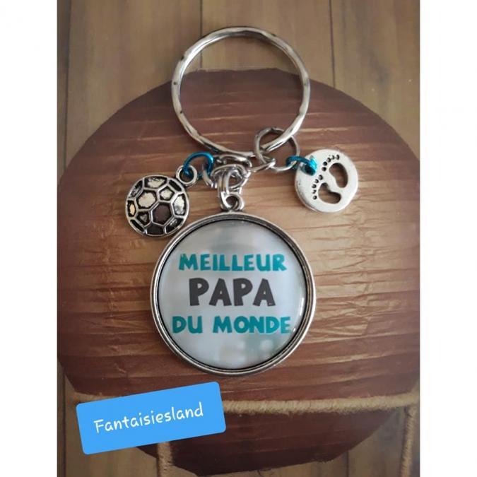 Fantaisiesland - Porte-clés Meilleur papa du monde - Porte-clés