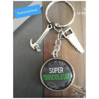 Fantaisiesland - Porte-clés super bricoleur - Porte-clés