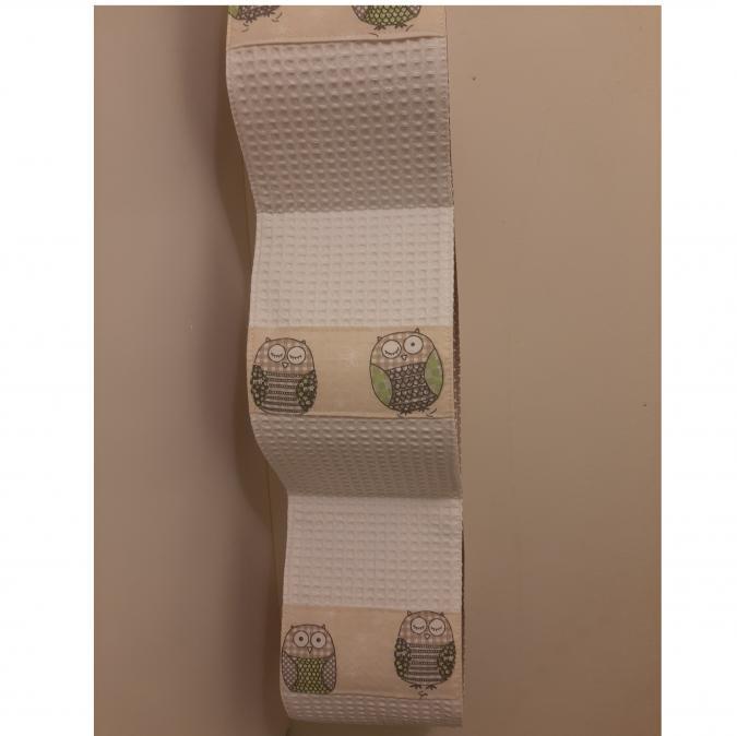 Farfeline - Support papier toilette en tissu - Chouettes - support papier toilette