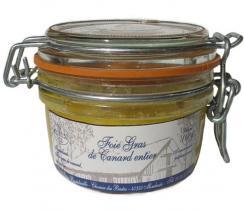 Ferme Bastebieille - Foie Gras de Canard Entier Conserve Bocal de 110g - Foie gras - 110g
