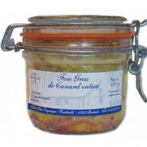 Ferme Bastebieille - Foie Gras de Canard Entier Conserve Bocal de 180g - Foie gras - 180g