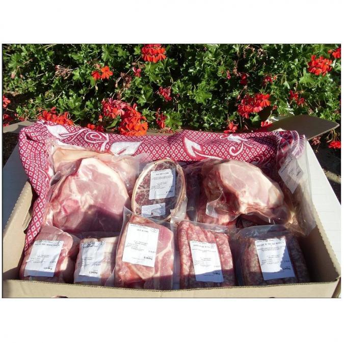 Ferme de la porte aux moines - Barbecue 10kg - Colis de boeuf