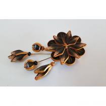 Fleurs de Zine - Broche Lyse - Broche