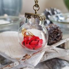 Fleurs de Zine - Sautoirs Floribules Rouge - Sautoir