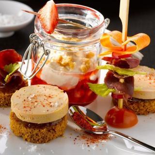 FOIE GRAS GROLIERE - 10 Crèmes de Canard au Monbazillac + 1 Offerte - Crème, mousse - 1.430