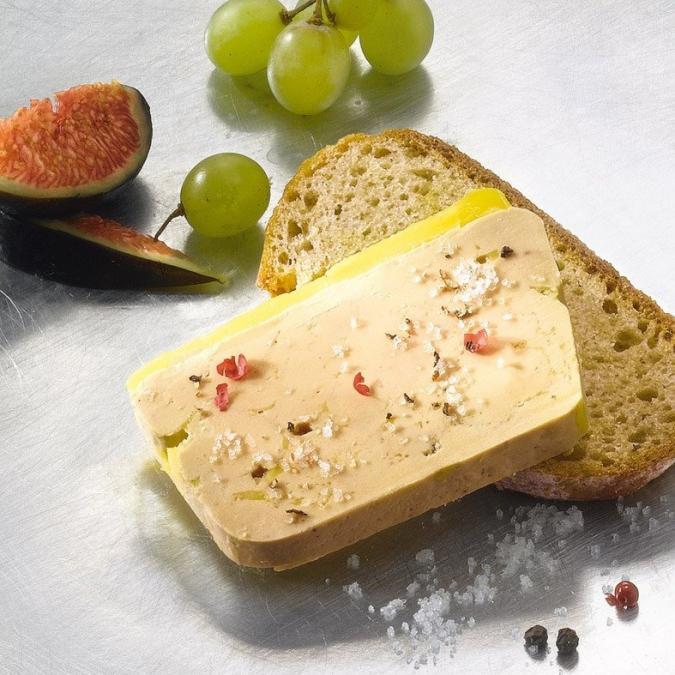 FOIE GRAS GROLIERE - 2 Foies Gras de Canard Mi-Cuit 300g + 1 Bloc de Foie Gras de Canard 130g - Foie gras - 0.730