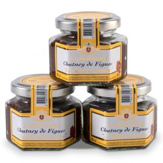 FOIE GRAS GROLIERE - 3 Chutney de Figues - Chutney