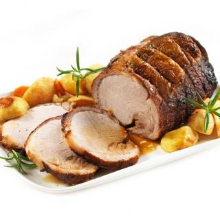 """FOIE GRAS GROLIERE - 3 Rôtis de Porc """"Façon Enchaud"""" - rôtis de porc"""