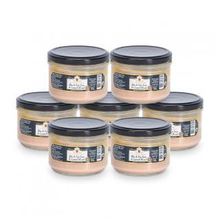 FOIE GRAS GROLIERE - 6 Blocs de Foie Gras de Canard Mi-Cuit + 1 Offert - 1260 gr - Foie gras - 1.260