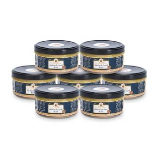 FOIE GRAS GROLIERE - 7 Foies Gras de Canard Mi-Cuit + 1 Offert - 960 gr - Foie gras - 0.960