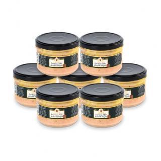 FOIE GRAS GROLIERE - 7 Foies Gras d'Oie Mi-Cuit du Périgord + 1 Offert - Foie gras - 1.440