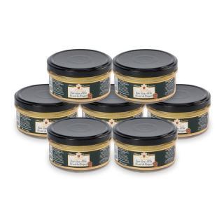 FOIE GRAS GROLIERE - 7 Foies Gras d'Oie Mi-Cuit du Périgord + 1 Offert - Foie gras - 0.960