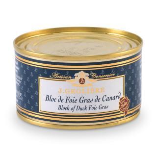 FOIE GRAS GROLIERE - Bloc de Foie Gras de Canard - 130 gr - Foie gras - 0.130