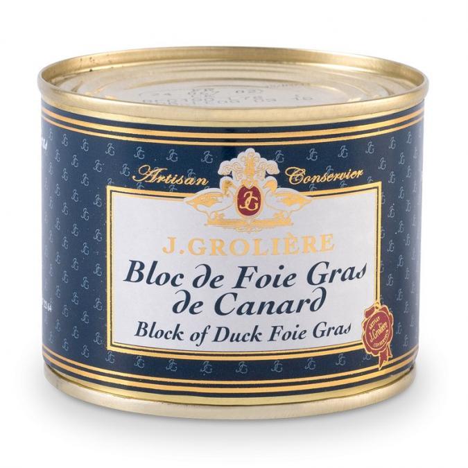FOIE GRAS GROLIERE - Bloc de Foie Gras de Canard - 190 gr - Foie gras - 0.190