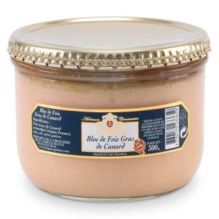 FOIE GRAS GROLIERE - Bloc de Foie Gras de Canard - 300 gr - Foie gras - 0.300