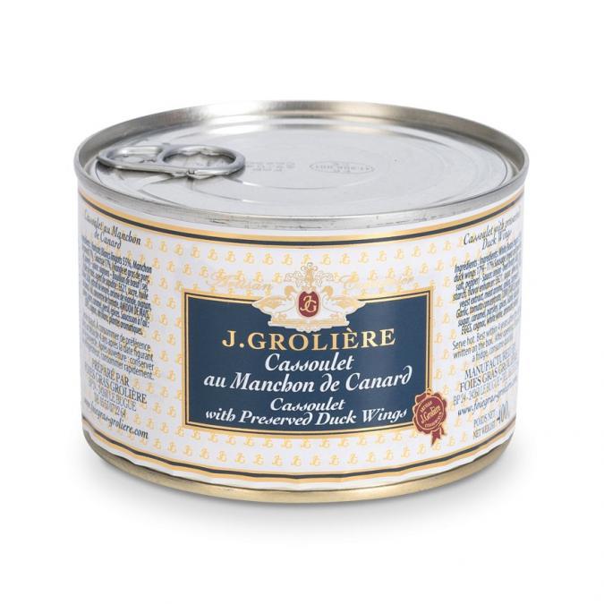 FOIE GRAS GROLIERE - Cassoulet aux Manchons de Canard - Cassoulet