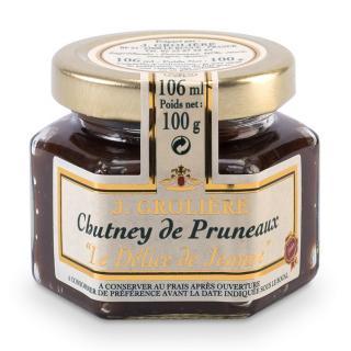 FOIE GRAS GROLIERE - Chutney de Pruneaux - Chutney