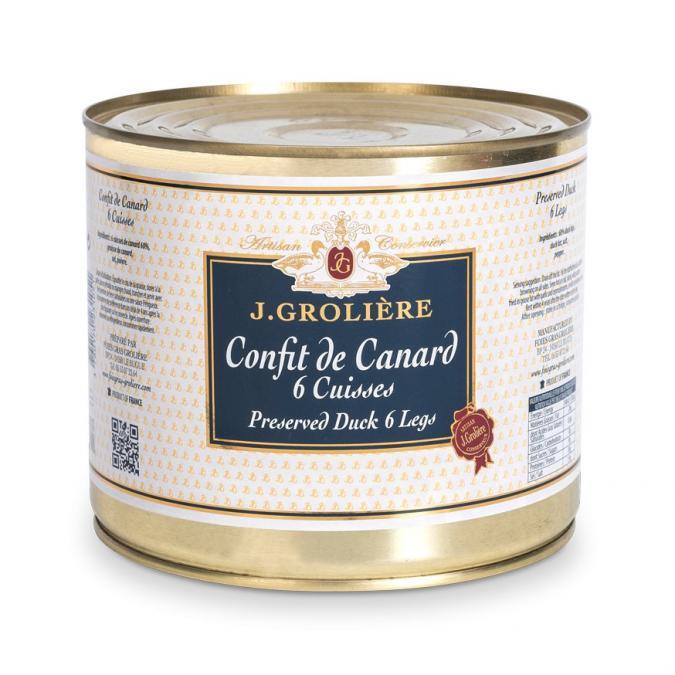 FOIE GRAS GROLIERE - Confit de Canard - Confit de canard