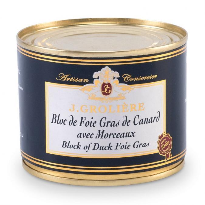 FOIE GRAS GROLIERE - Foie Gras de Canard du Perigord - 180 gr - Foie gras - 0.180