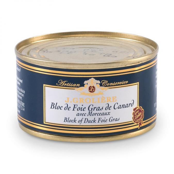 FOIE GRAS GROLIERE - Foie Gras de Canard du Perigord - 300 gr - Foie gras - 0.300