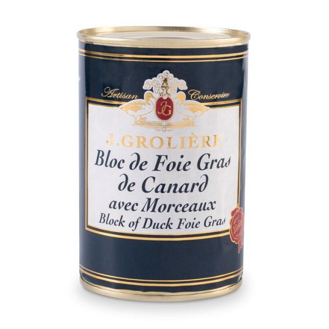 FOIE GRAS GROLIERE - Foie Gras de Canard du Perigord - 400 gr - Foie gras - 0.400