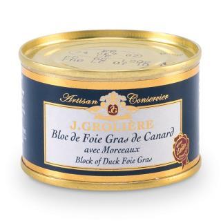 FOIE GRAS GROLIERE - Foie Gras de Canard du Perigord - 70 gr - Foie gras - 0.070