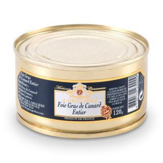 FOIE GRAS GROLIERE - Foie Gras de Canard Entier du Périgord - 120 gr - Foie gras - 0.120