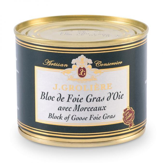 FOIE GRAS GROLIERE - Foie Gras d'Oie du Perigord - 180 gr - Foie gras - 0.180
