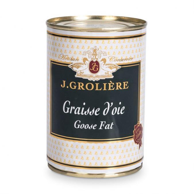 FOIE GRAS GROLIERE - Graisse d'Oie - graisse d'oie