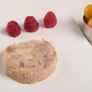 FOIE GRAS GROLIERE - Marbré de Foie et Confit de Canard Mi-Cuit - 120 gr - Foie gras - 0.120