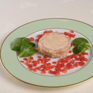 FOIE GRAS GROLIERE - Pâté de Foie de Canard Parfumé au Jus de Truffe 50% Foie Gras - Pâté - 0.19